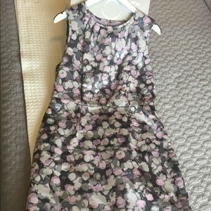 Ann Taylor LOFT Floral Sleeveless Sheath Dress